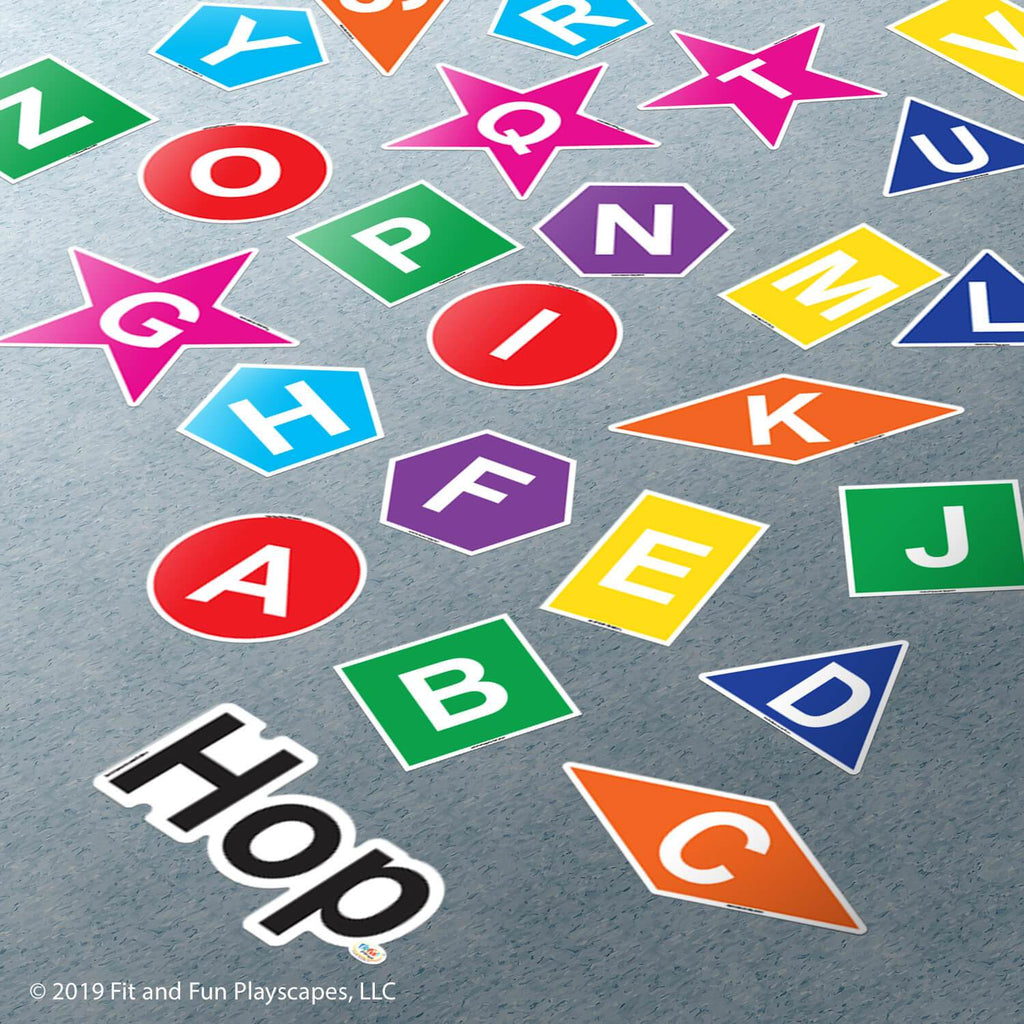 Hop Letters and Shapes™ Super Stickers®