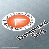 Downward Dog Super Stickers<sup>®</sup>