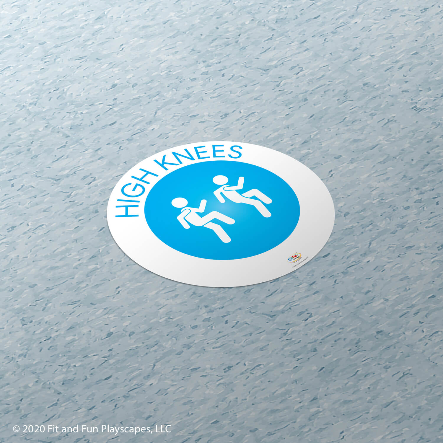 High Knees Super Sticker