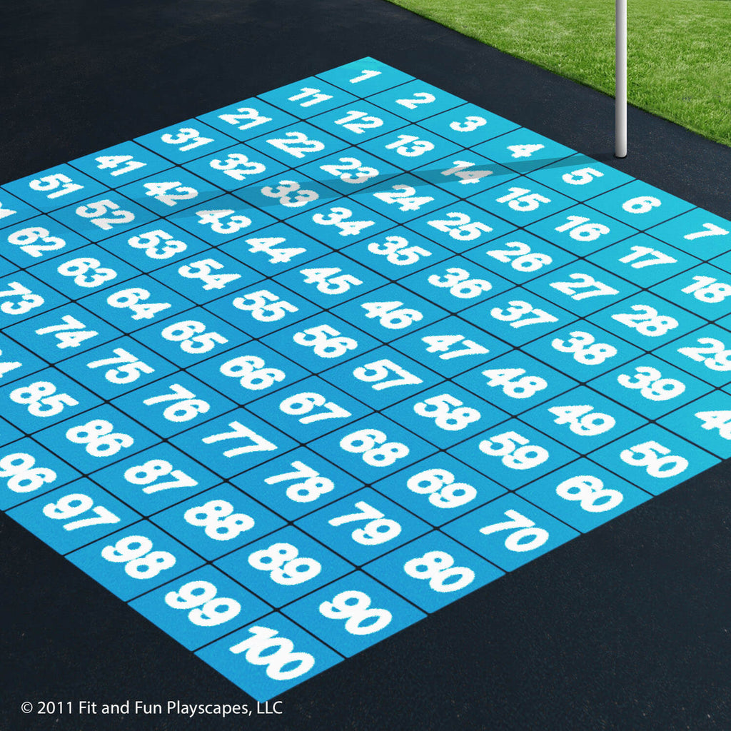 Number, Letter, Chess and Ladder Stencil Package