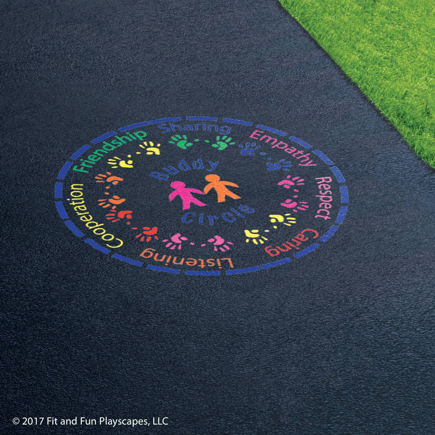 Buddy Circle™ – Multicolor Paint