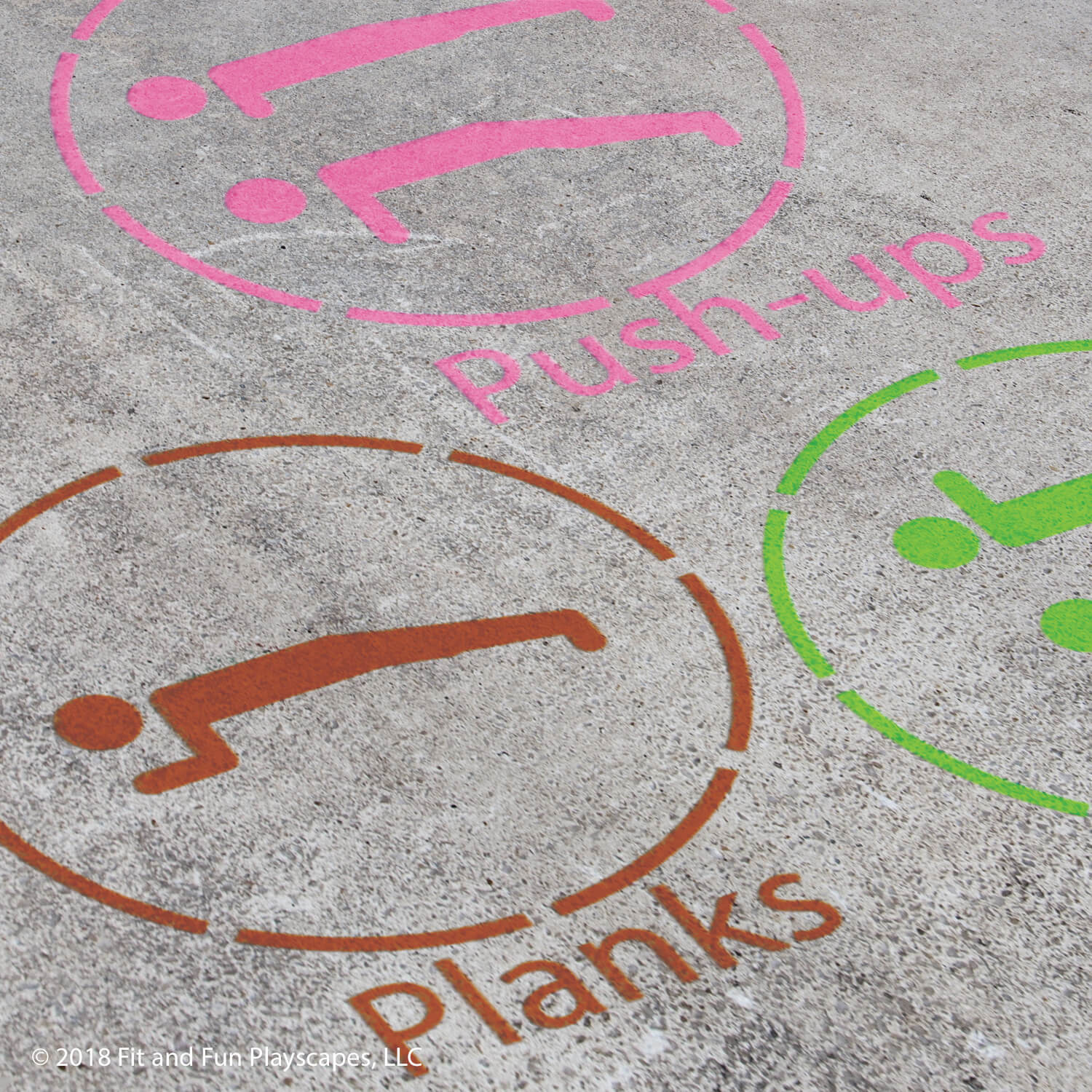 Enhanced Activity Stations Reusable Stencil Package