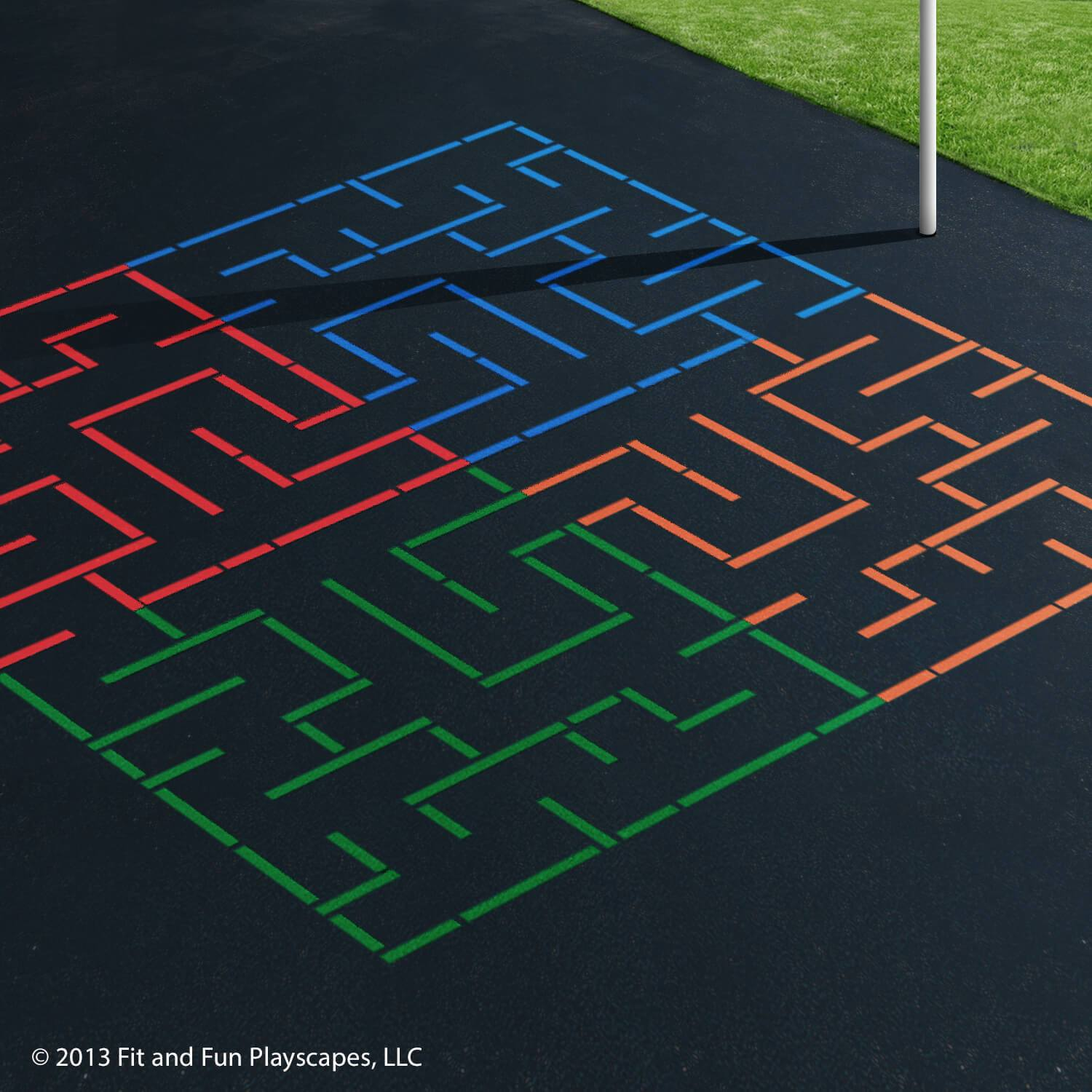 Tessellation Maze – Multicolor Paint (Regular)