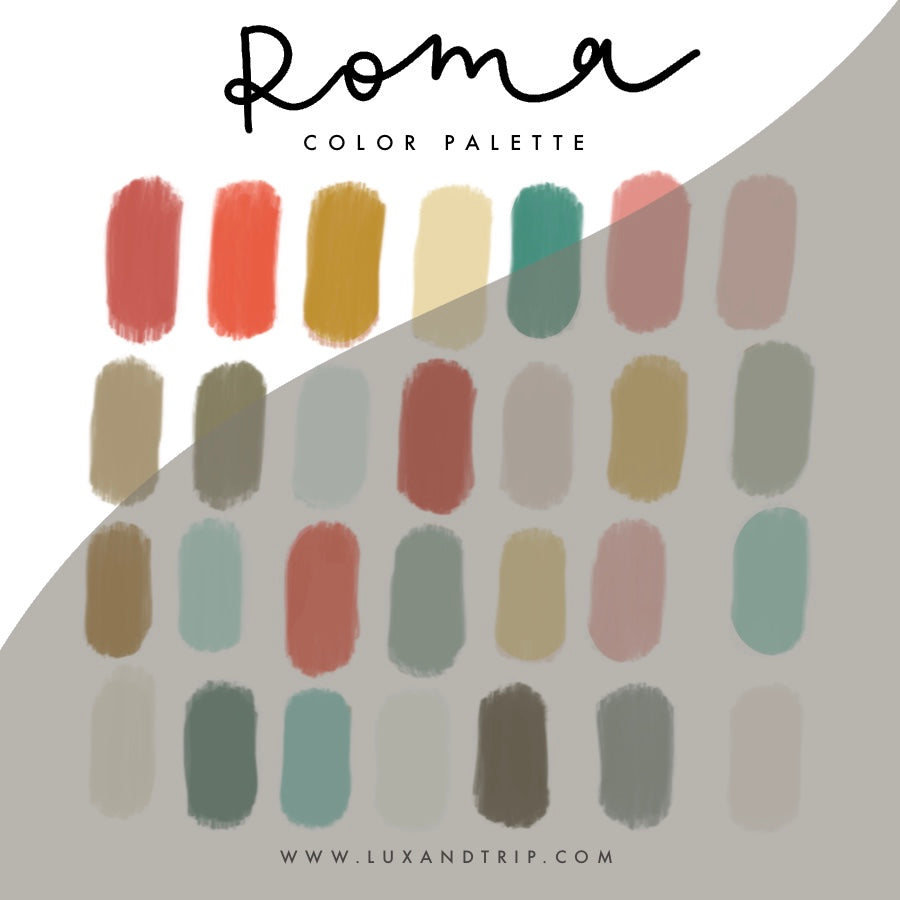 Roma Procreate Color Palette
