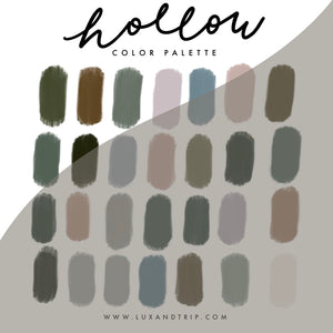 Hollow Procreate Color Palette