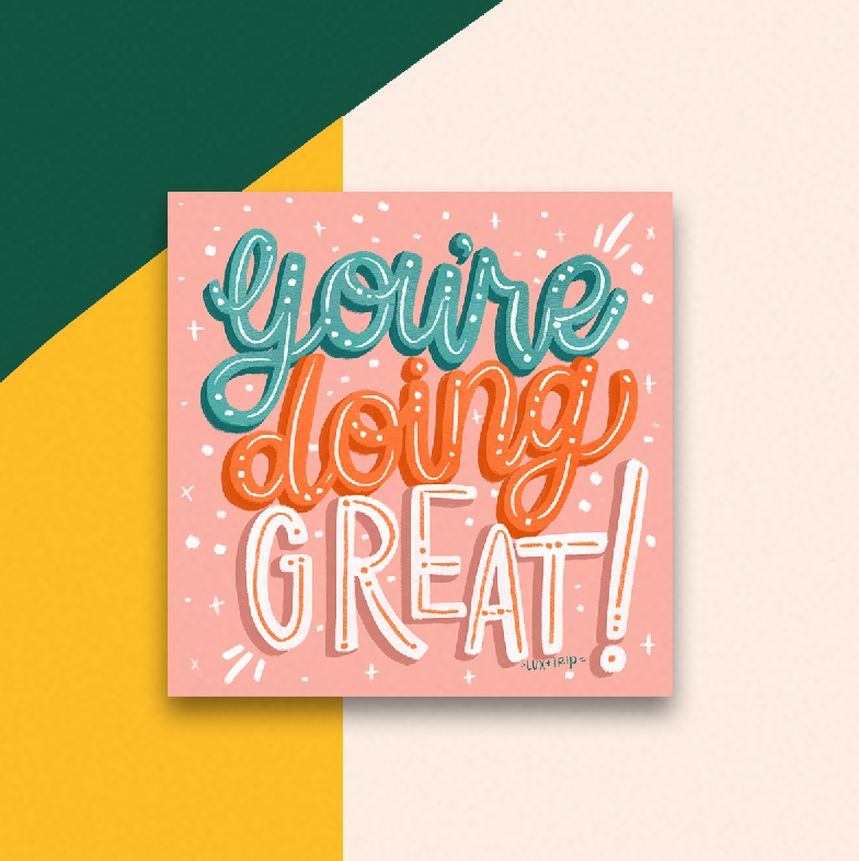 You're Doing Great! Sticker
