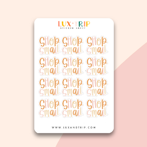 Shop Small Sticker Sheet