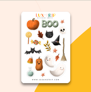 Halloween Sticker Sheet