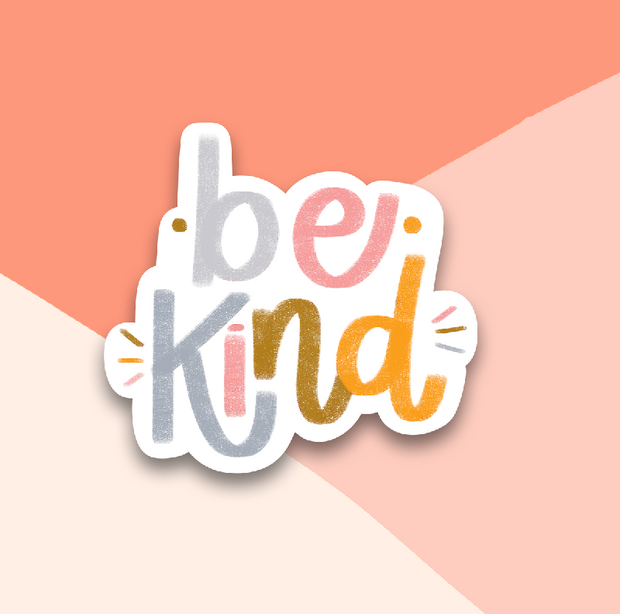 Be Kind Sticker 1