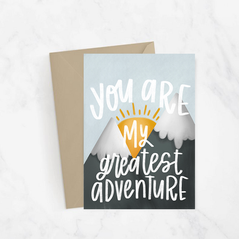 My Greatest Adventure Greeting Card