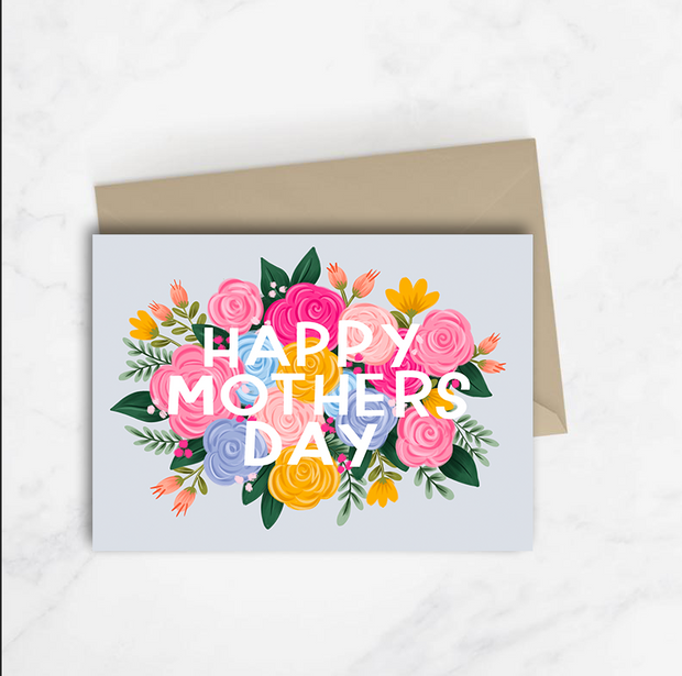 Happy Mother's Day Floral Card 1