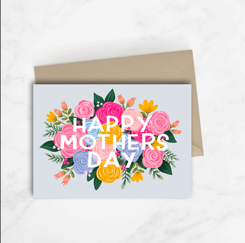 Happy Mother's Day Floral Card