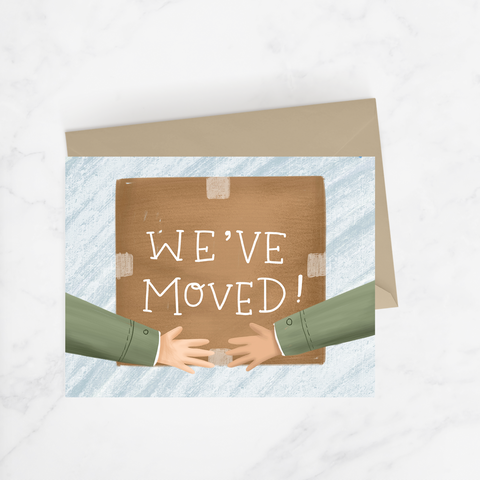 We Moved! Greeting Card