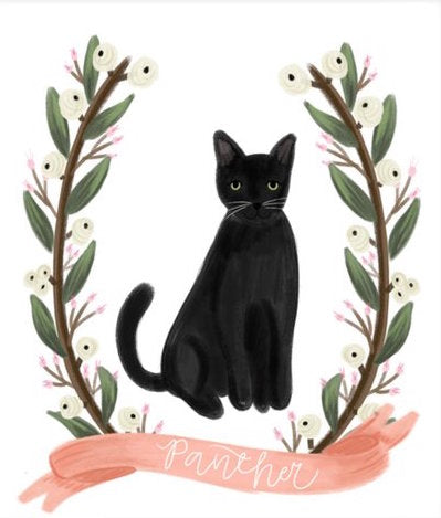 Full Body Pet Illustration