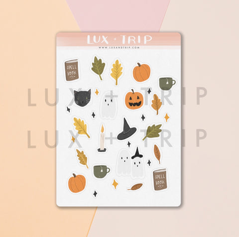 Halloween Things Sticker Sheet