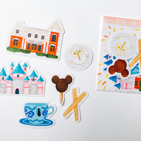 Happy Place Sticker Set