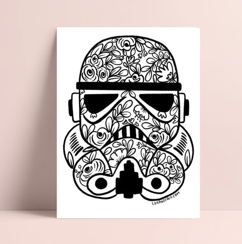 Printable Stormtrooper Coloring Page
