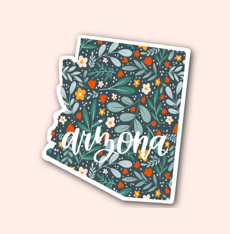 Arizona Floral Pattern Sticker