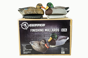 Cupped Waterfowl Decoys| Finishing Mallard 12PACK