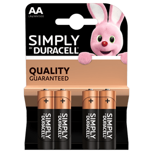 Duracell Batterie Simply AA