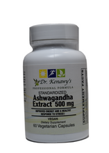 Load image into Gallery viewer, Dr. Kenawy's Ashwagandha Extract (60 Vegetarian capsules)