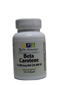 Dr. Kenawy's Beta Carotene (100 softgels)