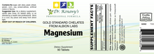 Load image into Gallery viewer, Dr. Kenawy's Chelated Magnesium [Magnesium Gold Standard Chelates] (90 Tablets)