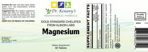 Dr. Kenawy's Chelated Magnesium [Magnesium Gold Standard Chelates] (90 Tablets)