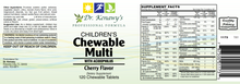 Load image into Gallery viewer, Dr. Kenawy's Children's Chewable Multi with Probiotics (120 Chewable Tablets)