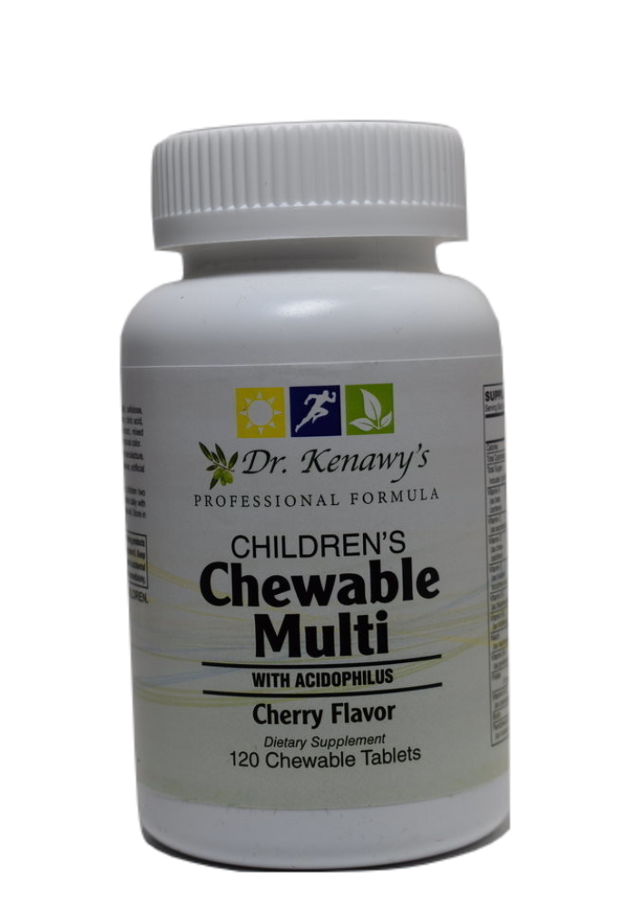 Dr. Kenawy's Children's Chewable Multi with Probiotics (120 Chewable Tablets)