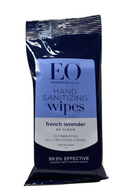 Essential Oils Hand Cleansing Wipes-French Lavender