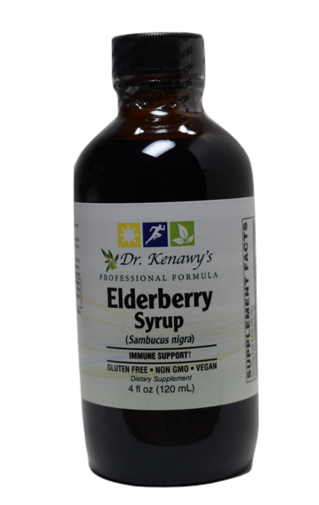 Dr. Kenawy's Elderberry Syrup (Liquid Extract)