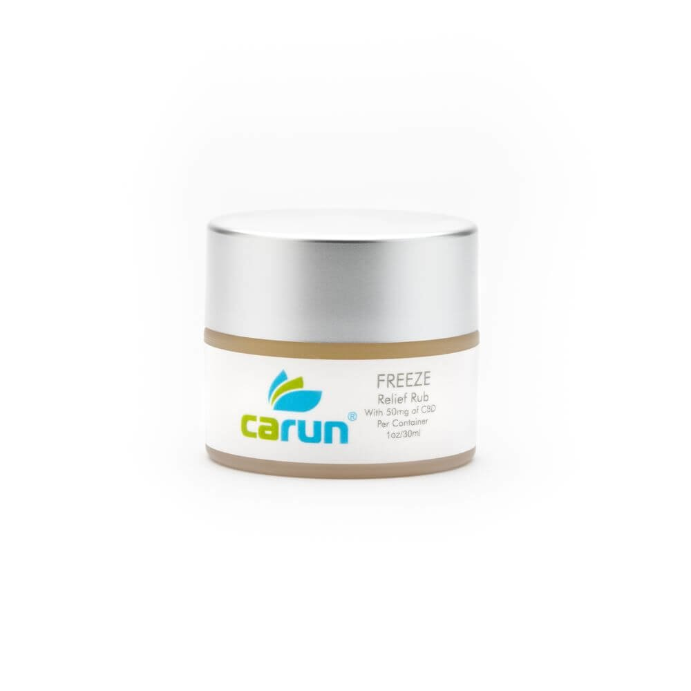 Carun Hemp Freeze Relief Rub