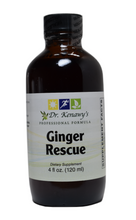 Load image into Gallery viewer, Dr. Kenawy's Ginger Rescue Syrup Concentrated (Organic Fresh & Dry Ginger Root) 4 FL OZ