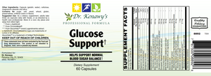 Dr. Kenawy's Glucose Support† (60 Capsules)