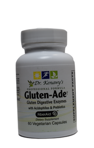 Dr. Kenawy's Gluten-Ade Digestive Enzymes With Acidophilus [Probiotics] & Prebiotics (60 Vegetarian Capsules)