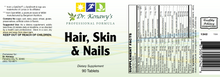 Load image into Gallery viewer, Dr. Kenawy's Hair, Skin, & Nails (90 Tablets)