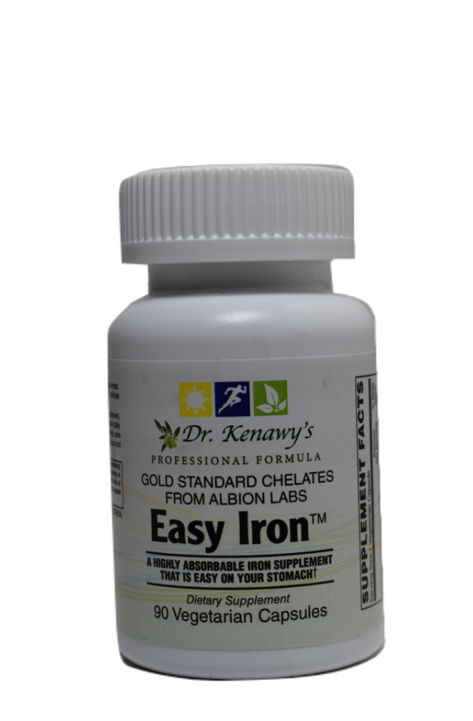 Dr. Kenawy's Easy Iron (90 Vegetarian Capsules)