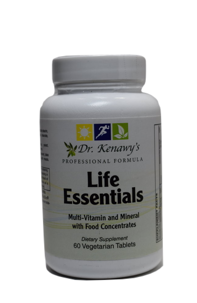 Dr. Kenawy's Life Essentials Multivitamin (60 Vegetarian Tablets)