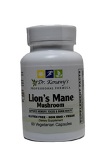 Load image into Gallery viewer, Dr. Kenawy's Lion's Mane Mushroom (60 Vegetarian Capsules)