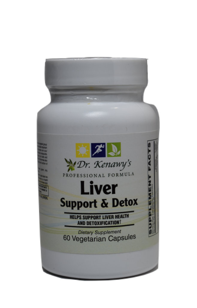 Dr. Kenawy's Liver Support & Detox (60 Vegetarian Capsules)