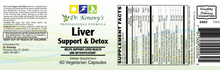 Load image into Gallery viewer, Dr. Kenawy's Liver Support & Detox (60 Vegetarian Capsules)