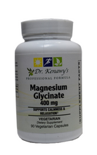 Load image into Gallery viewer, Dr. Kenawy's Magnesium Glycinate (90 Vegetarian Capsules)