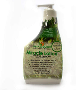 Miracle Lotion with God Heals Oil - 16 FL OZ