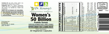 Load image into Gallery viewer, Dr. Kenawy's Women's 50 Billion Probiotic formula