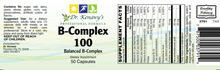 Load image into Gallery viewer, Dr. Kenawy's B-Complex 100 (50 Capsules)