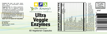 Load image into Gallery viewer, Dr. Kenawy's Ultra Veggie Enzymes (60 Vegetarian Capsules)