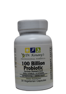 Dr. Kenawy's 100 Billion Probiotic (30 Vegetarian Capsules)