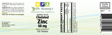 Load image into Gallery viewer, Dr. Kenawy's Chelated Zinc [Zinc Amino Acid Chelated], 50mg