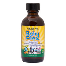 Load image into Gallery viewer, Animal Parade® Baby Plex®  - Liquid Multivitamin for Infants and Toddlers (2 fl.oz)
